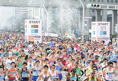東京マラソン芸能人ランナー