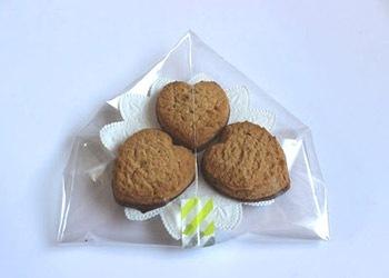クッキーのラッピング