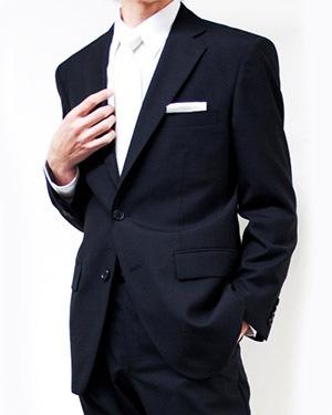 入学式 父のスーツ2
