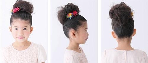 入学式 女の子の髪型2