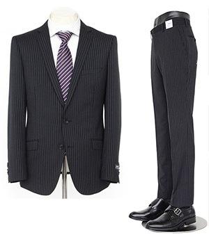入学式 父のスーツ3