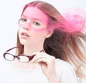 花粉症対策メガネ1