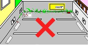 造幣局 桜の通り抜け2014駐車場はありません