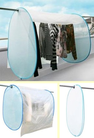 PM2.5対策 洗濯物カバー