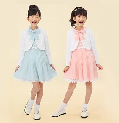 入学式 女の子の子供服2
