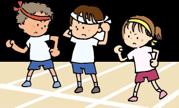 小学校の運動会の様子