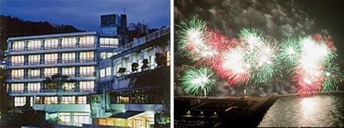 熱海花火大会2016がホテルから楽しめる2