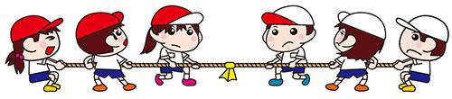 幼稚園の運動会の競技について
