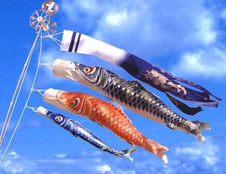 鯉のぼりの由来と意味を謎解く