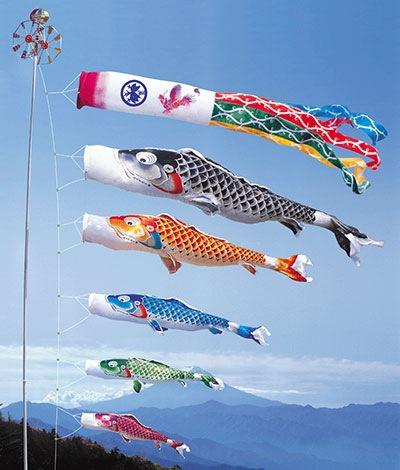 お庭用の立派な鯉のぼりのお値段は100万円