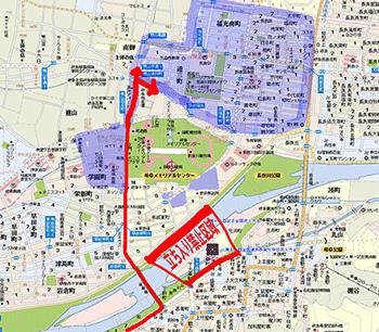 長良川花火大会2017の駐車場はこちらをチェック