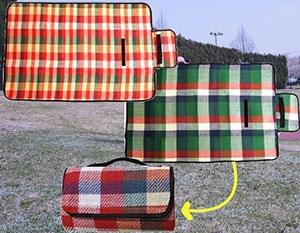 ピクニックに最適 小さくおしゃれなレジャーシート1