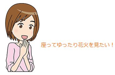 隅田川花火大会2017 穴場場所