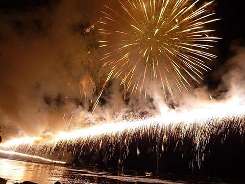諏訪湖花火大会2015 日程と穴場