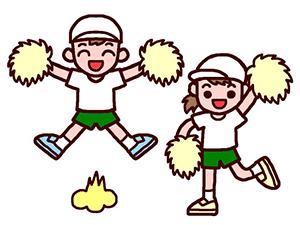 幼稚園の運動会 かわいいダンスで…