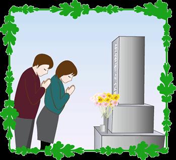 お盆のお墓参りは基本8月13日