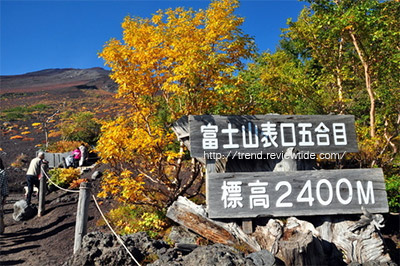 富士山登山表口