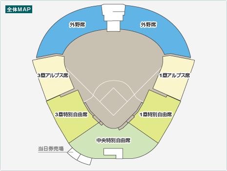 甲子園2017夏 当日チケット料金