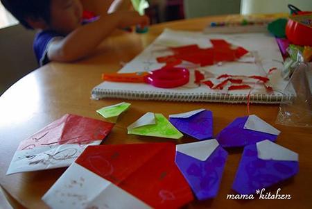 敬老の日のプレゼントには子供の手作りが一番