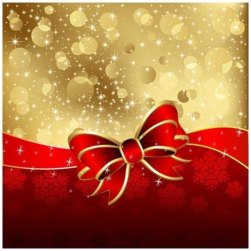 クリスマスのお洒落な無料イラスト 画像04