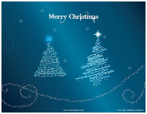 クリスマスのお洒落な無料イラスト 画像14