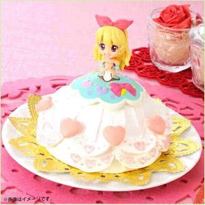 キャラデコクリスマス アイカツ! キラメキドレスケーキ