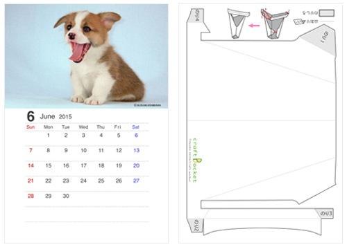 カレンダー カレンダー 2015 犬 : かわいい動物カレンダー2016 ...