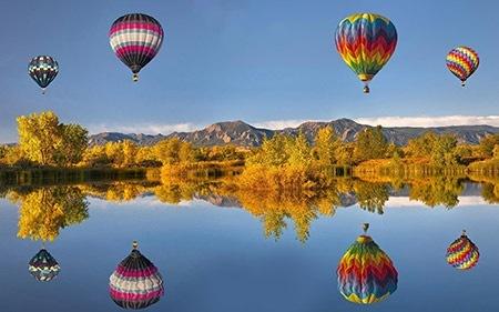 納税50万円以上は熱気球出張係留の特典