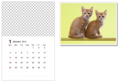 カレンダー カレンダー 写真 無料 : 無料カレンダー2016猫(ネコ)の ...