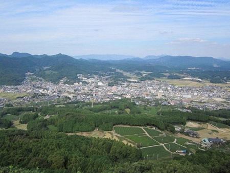 佐賀県 立岩展望台