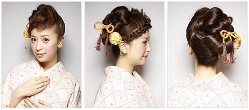 成人式の髪型2016 アップ・スタイル3