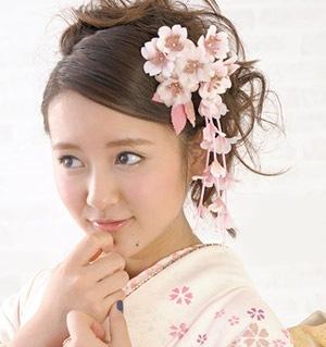 かわいい和風の髪飾り