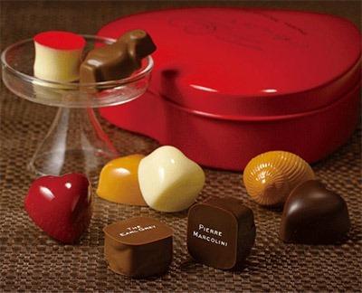 ブランド チョコレート ピエール・マルコリーニ