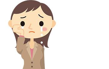 卒業式で泣いてしまう母親