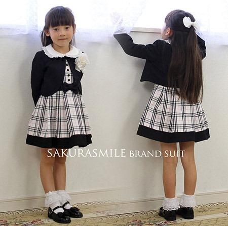 卒園式 女の子のおすすめスーツ1
