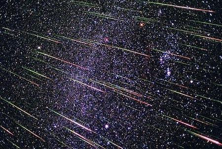 流星群イメージ画像