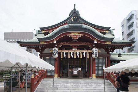 東京都中央区日本橋の水天宮