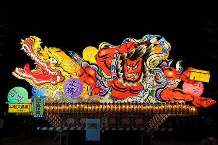 東北三大祭りの「ねぶた祭り」の開催日程