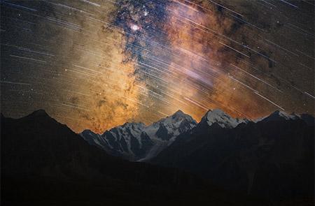 3大流星群の一つでもあるペルセウス座流星群