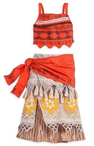 モアナの衣装