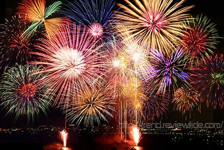 土浦全国花火競技大会は日本三大花火大会のひとつ