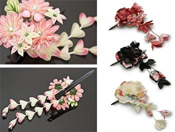 シンプルな花飾りタイプ