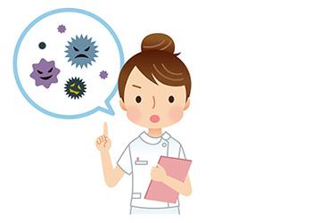 一番大切なのはウィルスを体内に入れないことです。