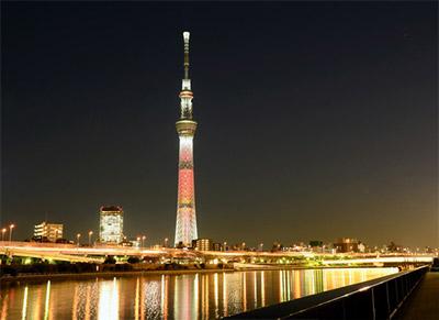 東京スカイツリーイルミネーション2017点灯期間と時間
