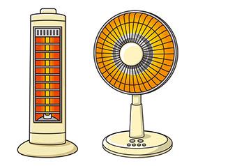 夏においてエアコンが必須アイテムなのと同じように、冬といえばヒーターです。