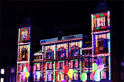 神戸フルーツ・フラワーパーク中央広場メインとするLEDイルミネーションイベント