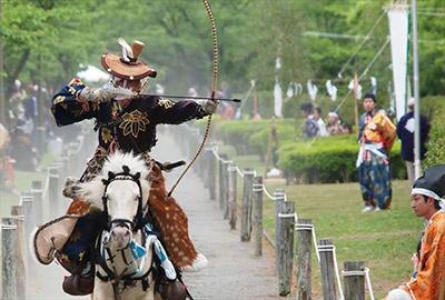 苗村神社・節句祭/流鏑馬