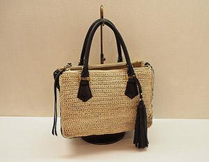 高級感溢れるシルエットかつ使いやすい素敵なかごバッグが色々あります。