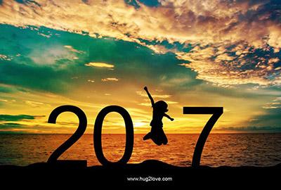 海外の壁紙 New Year 2017