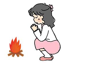お盆期間は迎え火~送り火